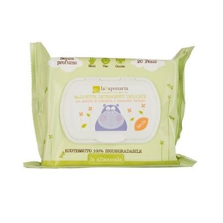 salviette detergenti la saponaria bimbi e adulti